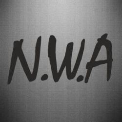 Наклейка N.W.A Logo - FatLine