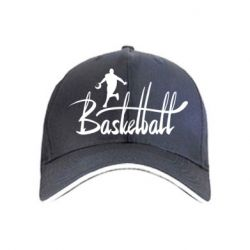 Кепка Надпись Баскетбол - FatLine