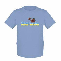Детская футболка Надпись Украина с цветами - FatLine