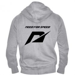 Мужская толстовка на молнии Need For Speed Logo