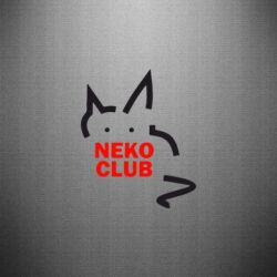 Наклейка Neko Club - FatLine