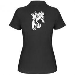 Женская футболка поло Nevermore - FatLine