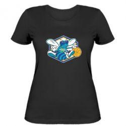 Женская футболка New Orleans Hornets Logo - FatLine