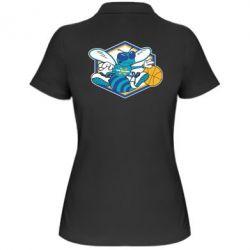Женская футболка поло New Orleans Hornets Logo - FatLine