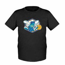 Детская футболка New Orleans Hornets Logo - FatLine