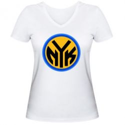 ������� �������� � V-�������� ������� New York Knicks logo - FatLine