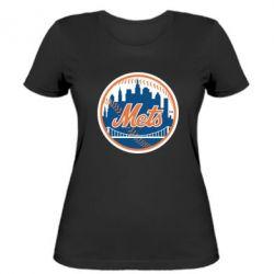 Женская футболка New York Mets - FatLine