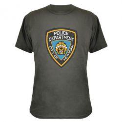 Камуфляжная футболка New York Police Department - FatLine