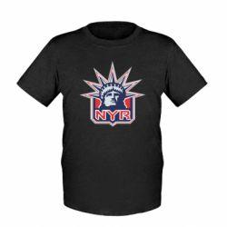 Детская футболка New York Rangers - FatLine