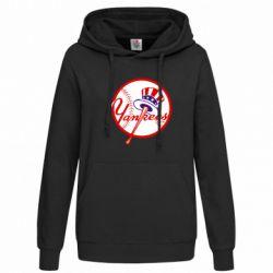 Женская толстовка New York Yankees - FatLine