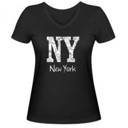 ������� �������� � V-�������� ������� New York - FatLine