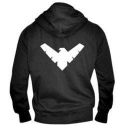 ������� ��������� �� ������ Nightwing Logo - FatLine
