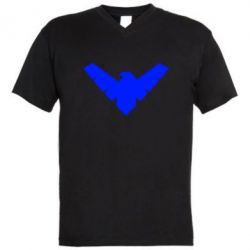 ������� ��������  � V-�������� ������� Nightwing Logo - FatLine