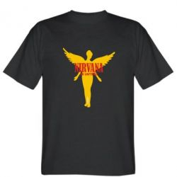 Мужская футболка Nirvana Logo - FatLine