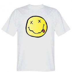 Мужская футболка Nirvana Logo 3D - FatLine