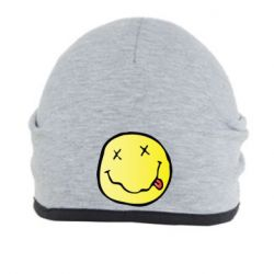 Шапка Nirvana Logo 3D - FatLine