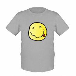 Детская футболка Nirvana Logo 3D - FatLine