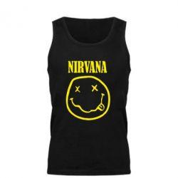 Мужская майка Nirvana (Нирвана) - FatLine