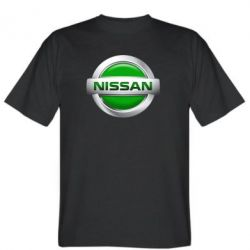 Мужская футболка Nissan Green - FatLine