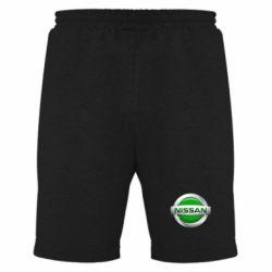Мужские шорты Nissan Green - FatLine