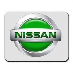 Коврик для мыши Nissan Green - FatLine