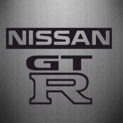 Наклейка Nissan GT-R - FatLine