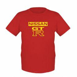 Детская футболка Nissan GT-R - FatLine