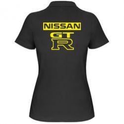 Женская футболка поло Nissan GT-R - FatLine