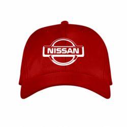 Детская кепка Nissan Logo - FatLine