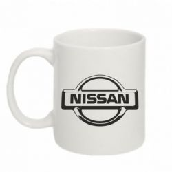 Кружка 320ml Nissan Logo - FatLine