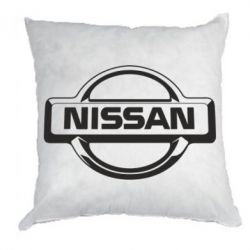 Подушка Nissan Logo - FatLine