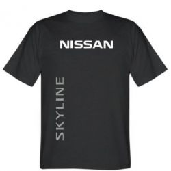 Мужская футболка Nissan Slyline - FatLine