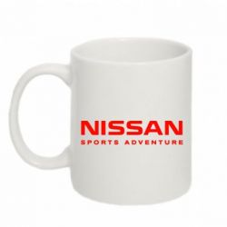 Кружка 320ml Nissan Sport Adventure - FatLine