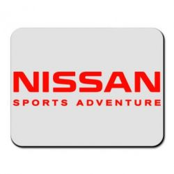 Коврик для мыши Nissan Sport Adventure - FatLine