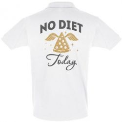 Футболка Поло No diet today