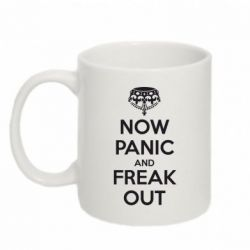 Кружка 320ml NO PANIC and FREAK OUT - FatLine