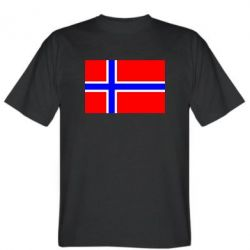 Мужская футболка Норвегия - FatLine