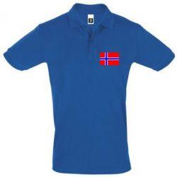 Футболка Поло Норвегия - FatLine