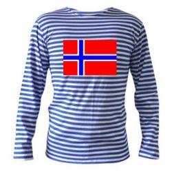 Тельняшка с длинным рукавом Норвегия - FatLine