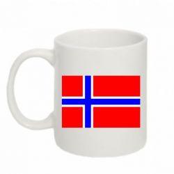 Кружка 320ml Норвегия - FatLine