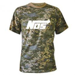 Камуфляжная футболка Nos - FatLine