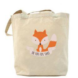 Сумка Of for fox sake