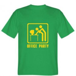 Мужская футболка Office Party - FatLine