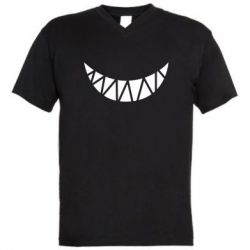 Мужская футболка  с V-образным вырезом Охра - FatLine