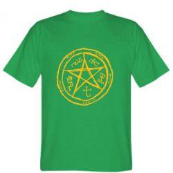Мужская футболка Оккультный символ Сверхъестественное - FatLine