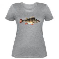 Женская футболка Окунь - FatLine