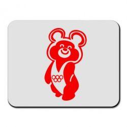 Коврик для мыши Олимпийский Мишка