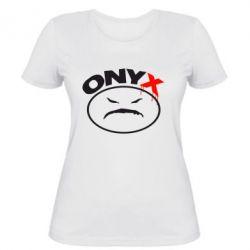 Женская футболка Onyx - FatLine
