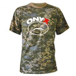 Камуфляжная футболка Onyx - FatLine