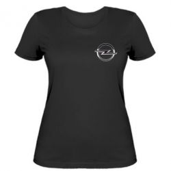 Женская футболка Opel Small - FatLine
